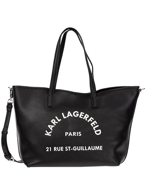 Schultertasche Karl Lagerfeld rue st guillaume 96kw3044 nero