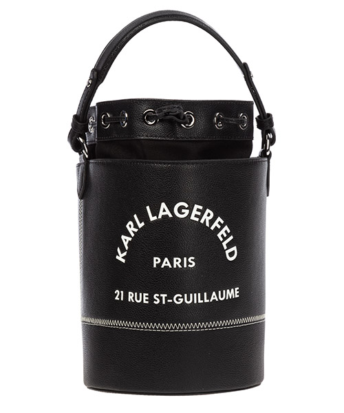 Bucket bag Karl Lagerfeld rue st guillaume 96kw3045 nero