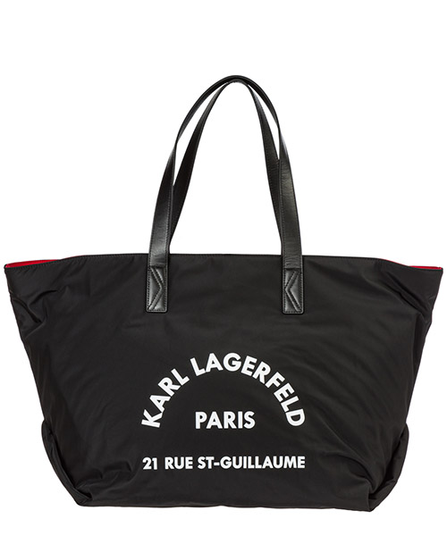 Shoulder bag Karl Lagerfeld rue st guillaume 96kw3064 black