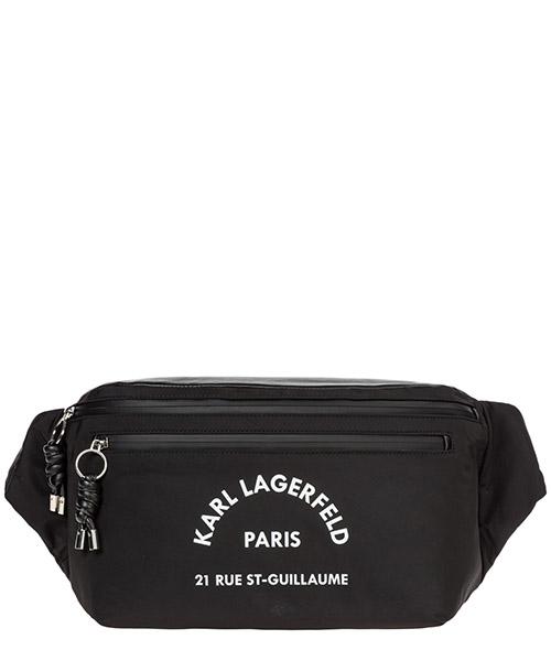 Marsupio Karl Lagerfeld rue st guillaume kw3066 black