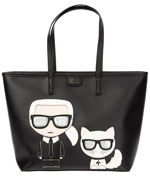 Shoulder bag Karl Lagerfeld k/ikonik 96kw3078 nero
