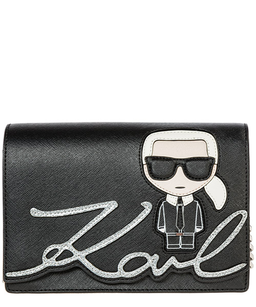 Shoulder bag Karl Lagerfeld k/ikonik 96kw3082 black