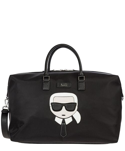 Borsone da viaggio Karl Lagerfeld k/ikonik 96kw3088 black