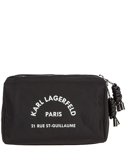 Toiletry bag Karl Lagerfeld rue st guillaume 96kw3218 black