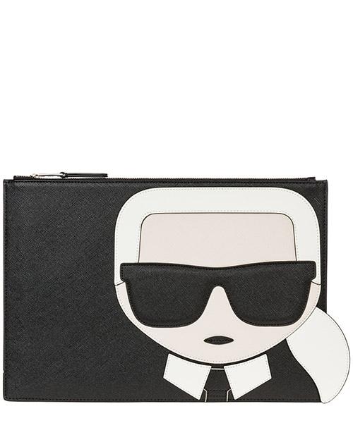 Pochette Karl Lagerfeld k/ikonik 96kw3231 black