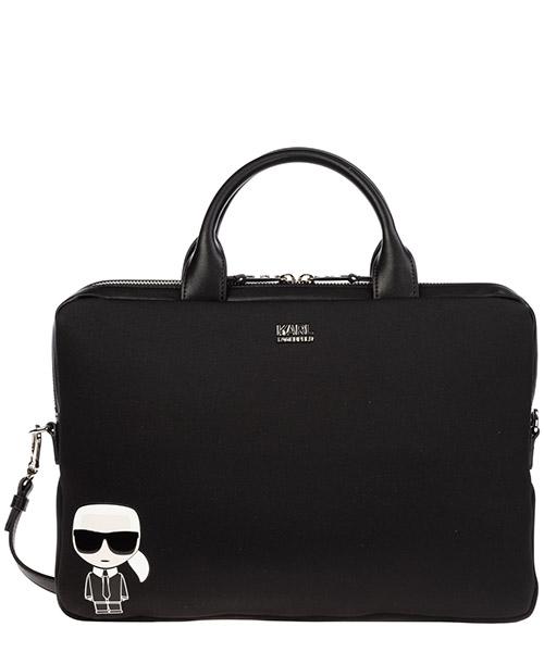 Briefcase Karl Lagerfeld k/ikonik 96kw3234 nero