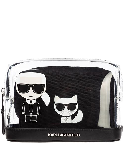 Toiletry bag Karl Lagerfeld k/ikonik 96kw3235 nero