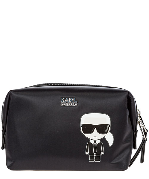 Toiletry bag Karl Lagerfeld k/ikonik 96kw3238 black