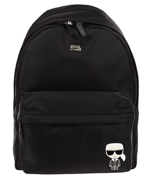 Backpack Karl Lagerfeld k/ikonik 96kw3087 nero