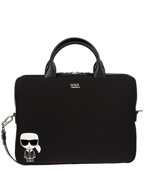 Briefcase Karl Lagerfeld k/ikonik 805917592199 nero