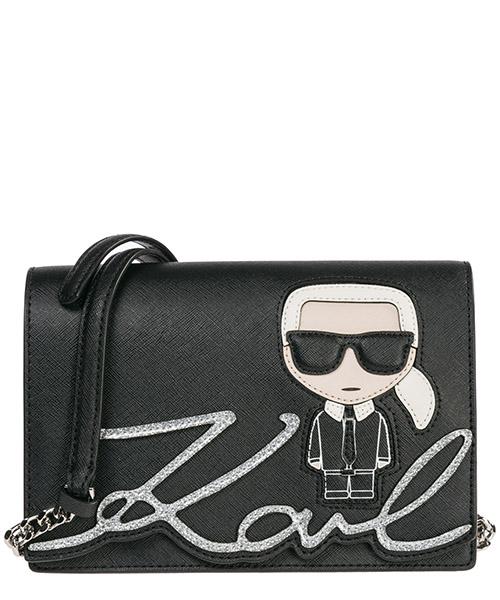 Schultertasche Karl Lagerfeld K/Ikonik 86KW3082 nero