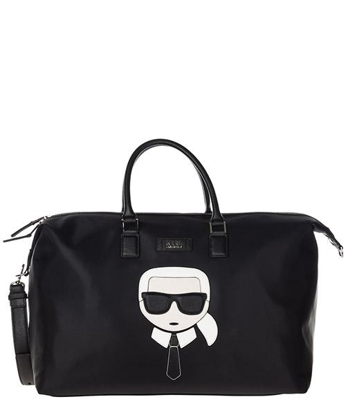 Borsone da viaggio Karl Lagerfeld K/Ikonik 86KW3088 nero