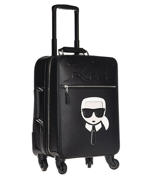 Women's suitcase trolley  k/ikonik secondary image