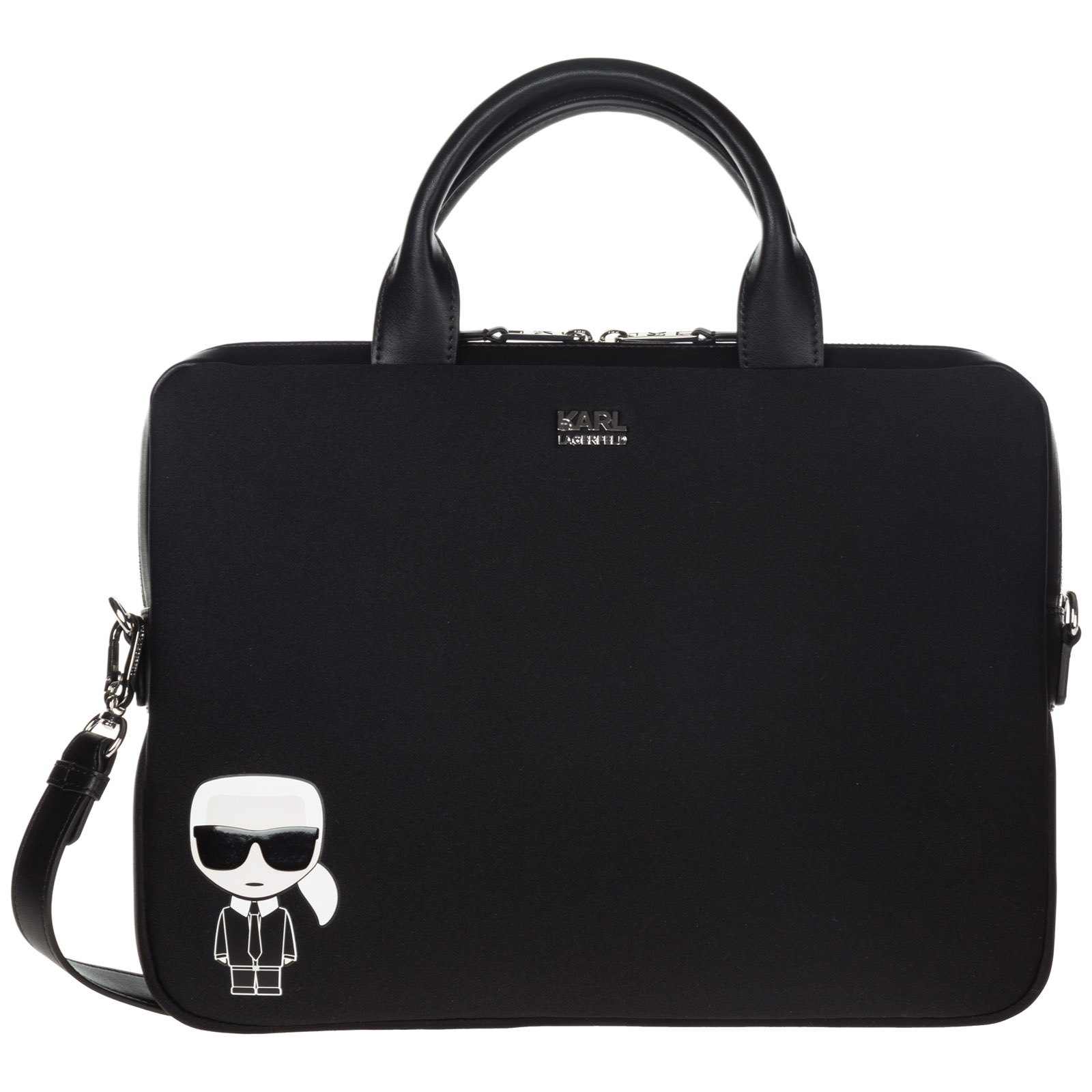 Briefcase attaché case laptop pc bag k/ikonik