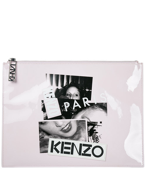 Clutch bags Kenzo F752SA607L03 rosa