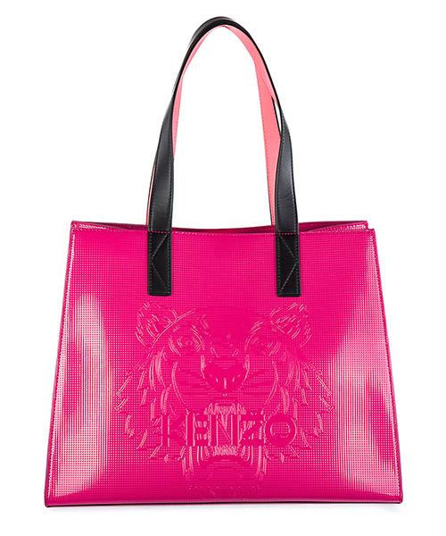 Shopping bag Kenzo Tiger F762SA602B50.26.TU fucsia