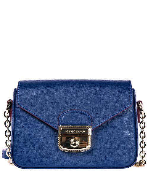 Crossbody bag Longchamp 1305813 blu