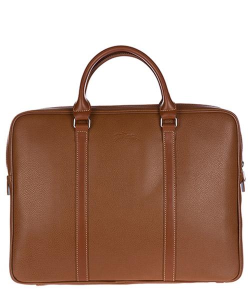 Borse porta pc Longchamp 1368021 marrone