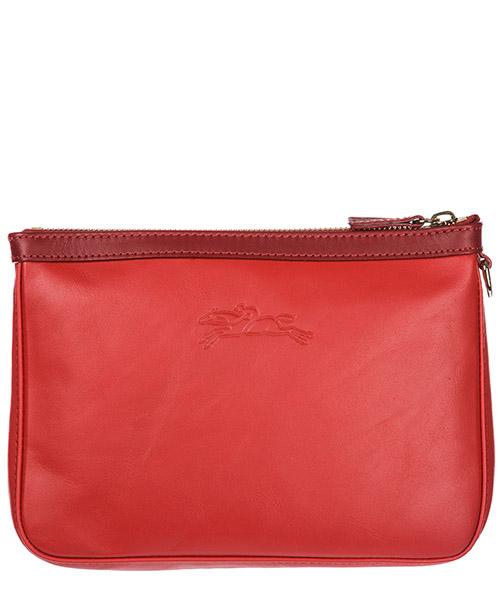 Women's leather clutch handbag bag purse secondary image