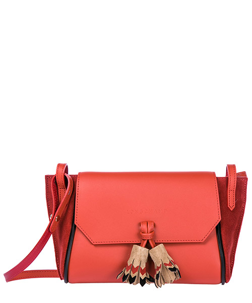 Crossbody bag Longchamp 2066892 rouge