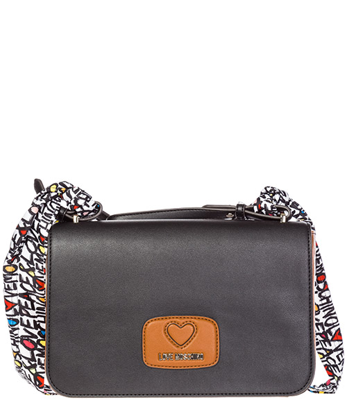 Shoulder bag Love Moschino JC4253PP05KF0 bianco - cuoio - nero