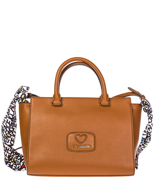 Borsa a spalla Love Moschino JC4256PP05KF0200 marrone