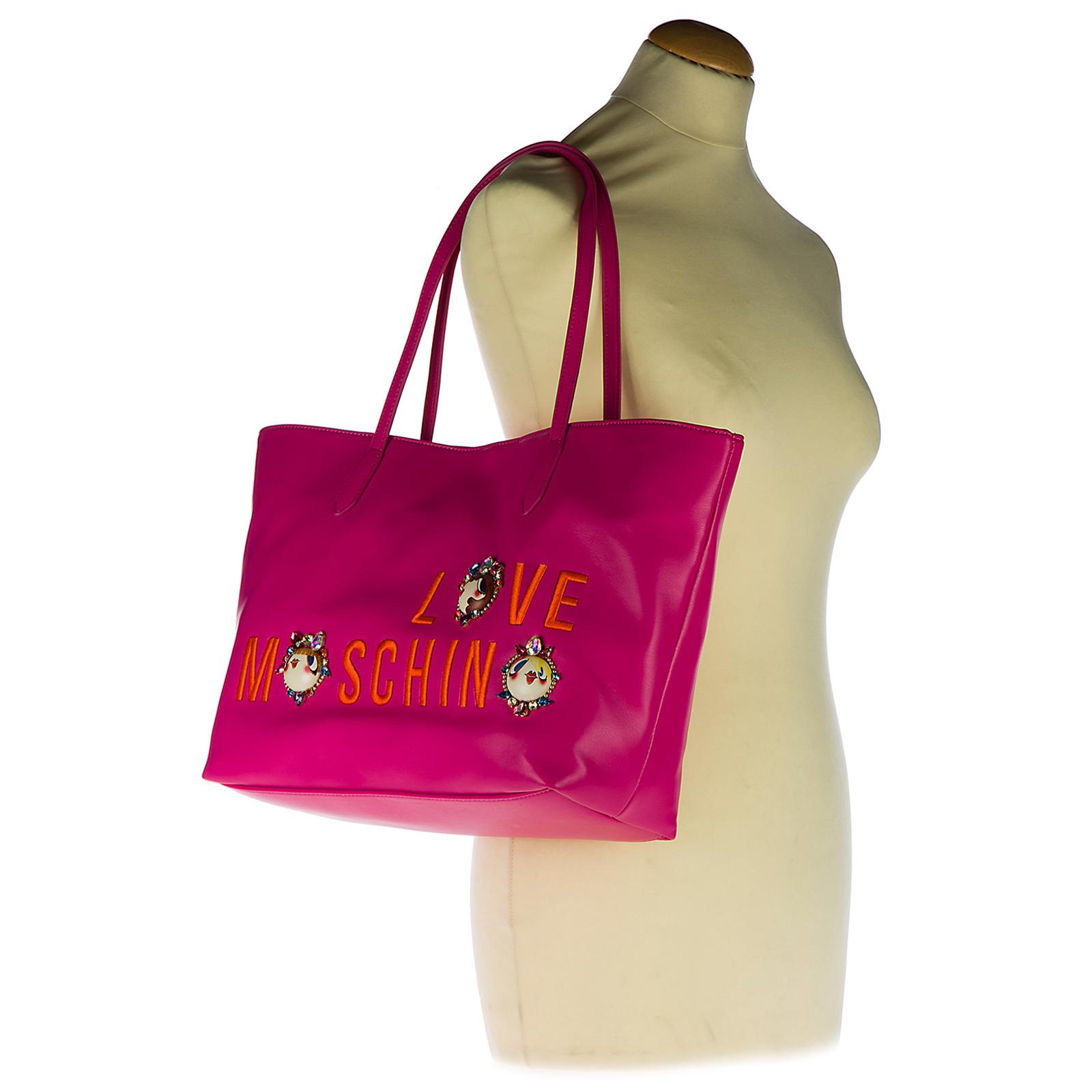 Shopping bag Love Moschino JC4313PP03KR0604 fucsia  9fa2e2994fc
