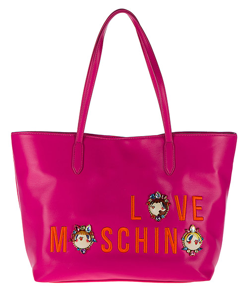 Shopping Bag Love Moschino JC4313PP03KR0604 fucsia