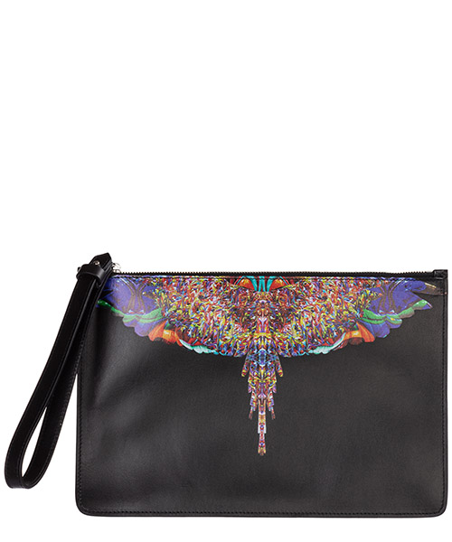 Document holder Marcelo Burlon Multicolor wings CMNA013F198540691088 nero