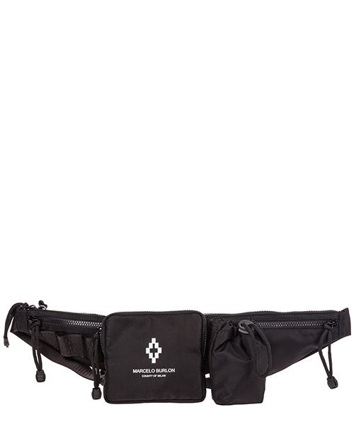 Bum bag Marcelo Burlon Cross CMNA019E19A960621001 nero