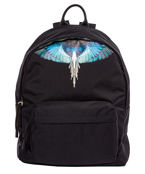 Backpack Marcelo Burlon Wings CMNB006E198530581088 nero