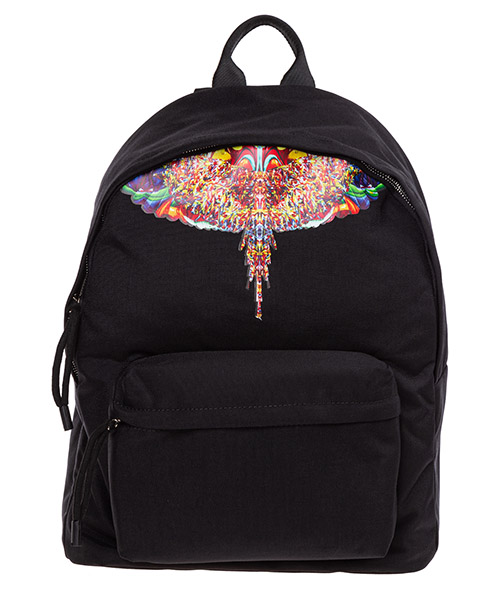 Backpack Marcelo Burlon Multicolor wings CMNB006F198530691088 nero