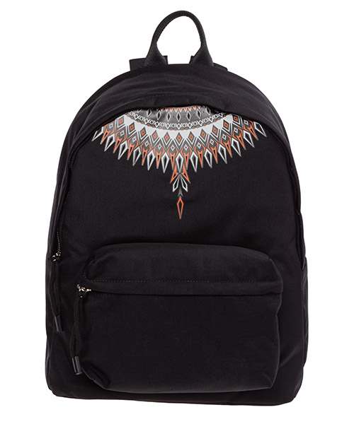 Backpack Marcelo Burlon Norwegian wings CMNB006F198530701088 nero