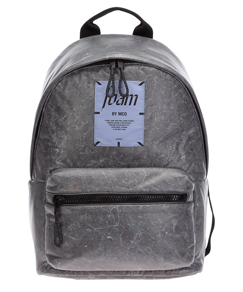 Backpack MCQ foam 494507R4C42 1010 grigio