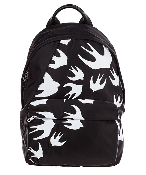 Backpack MCQ Alexander McQueen Swallow 494507R4B971000 nero