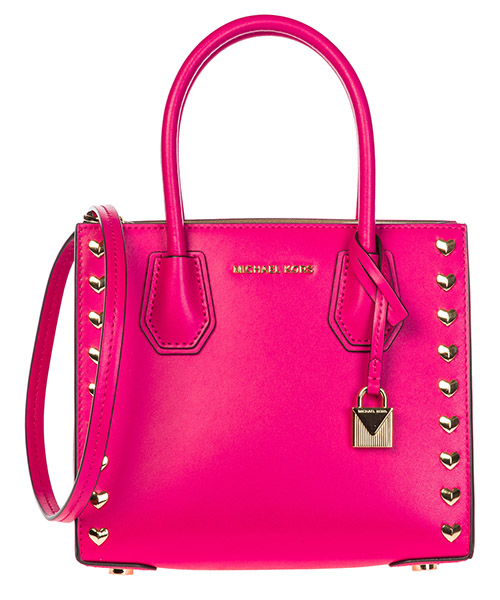 Handbag Michael Kors Mercer 30H7GM9M2U ultra pink