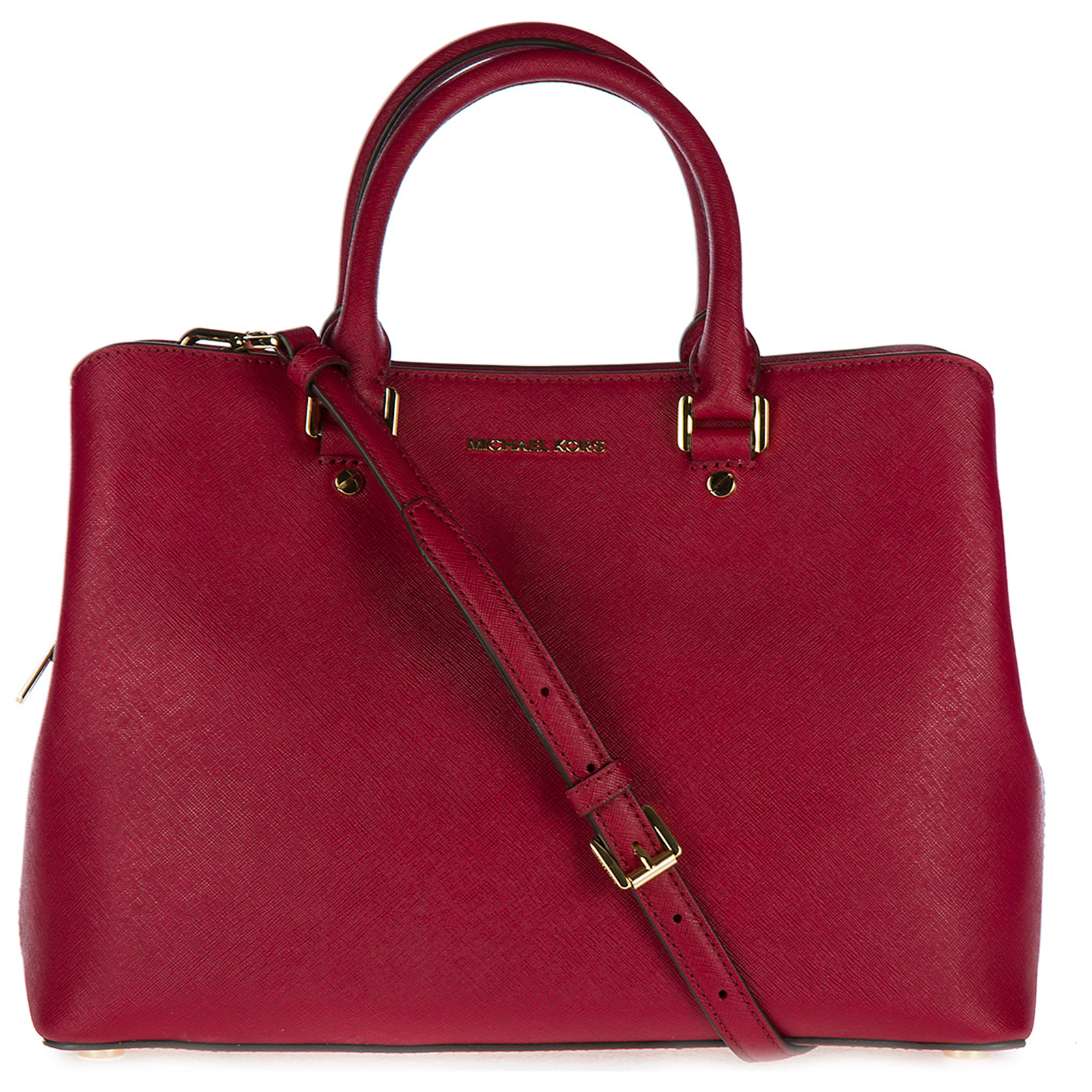 Borsa donna a mano shopping in pelle savannah lg satchel