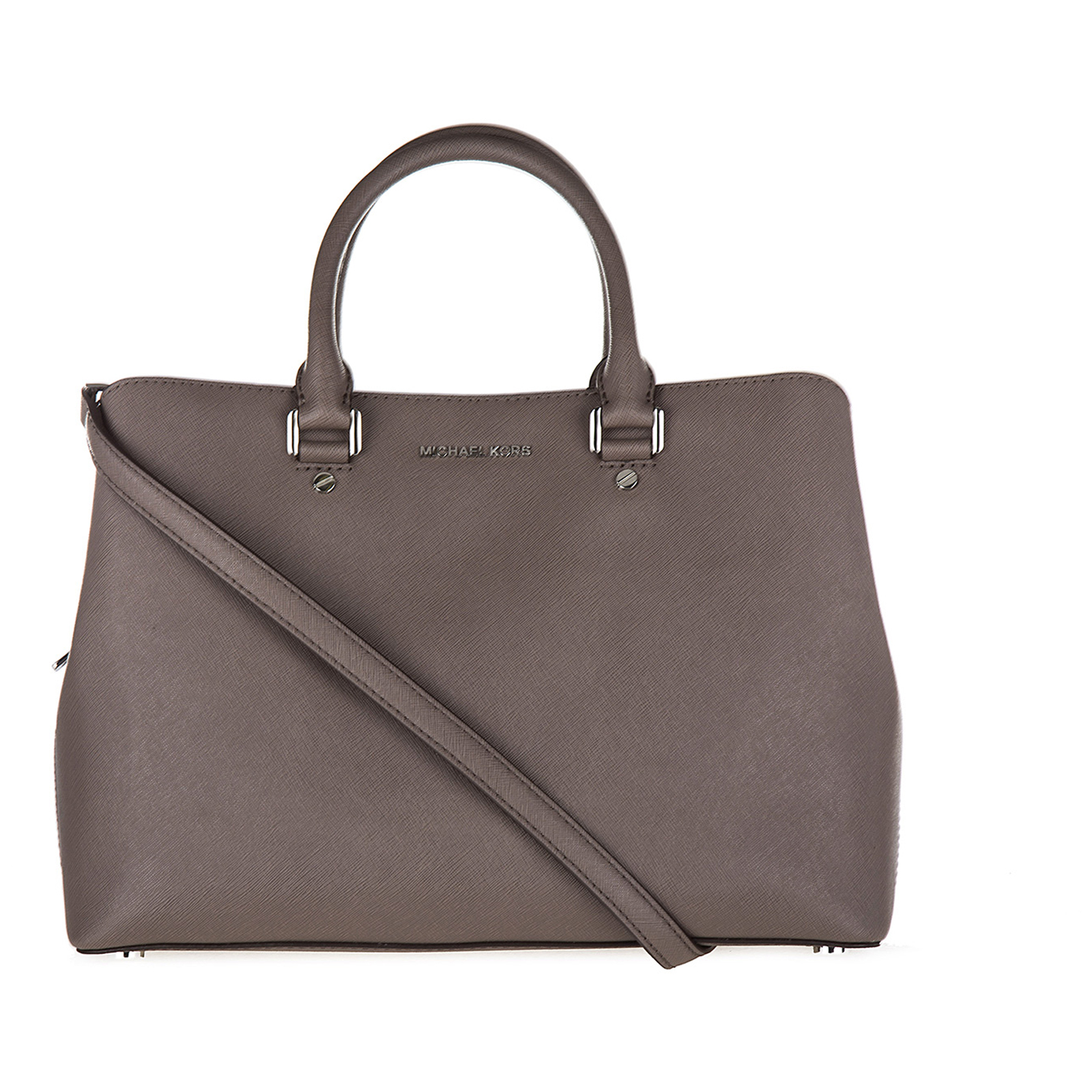 Borsa donna a mano shopping in pelle savannah satchel