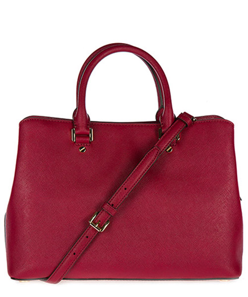 Borsa donna a mano shopping in pelle savannah lg satchel secondary image