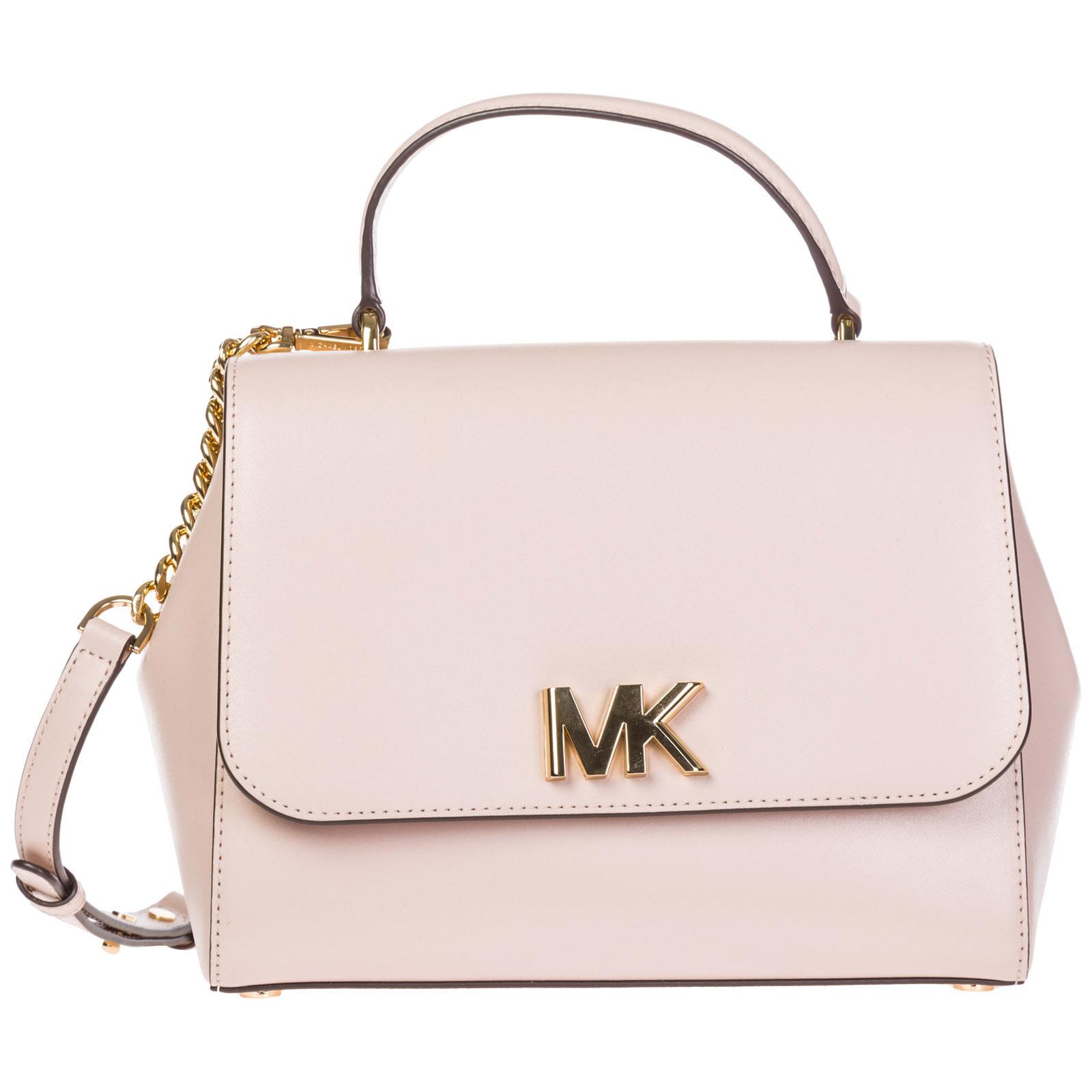 5da2e709a5f2 Handbag Michael Kors Monny 30S8GOXS2L soft pink   FRMODA.com