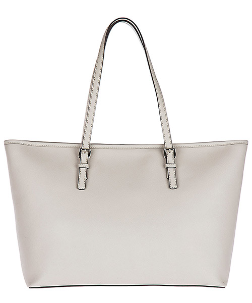Borsa donna a spalla shopping in pelle jet set travel medium md funt tote secondary image