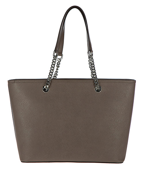 Borsa donna a spalla shopping in pelle jet set travel chain secondary image