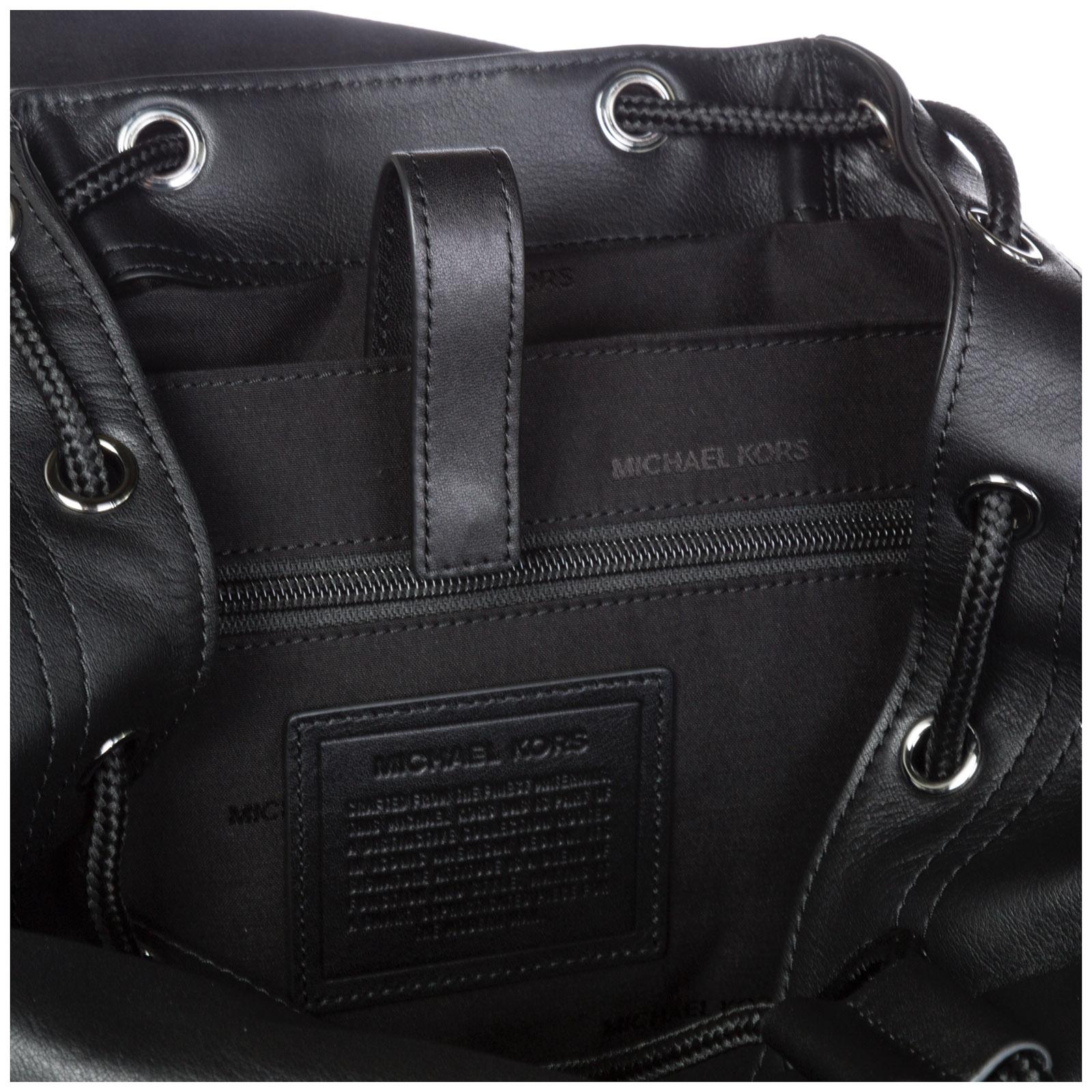 dbbe5affba Zaino Michael Kors Henry 33F8LHYB2L 001 black | FRMODA.com