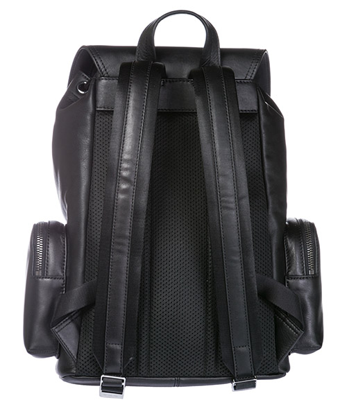 Men's leather rucksack backpack travel men's leather rucksack backpack travel secondary image