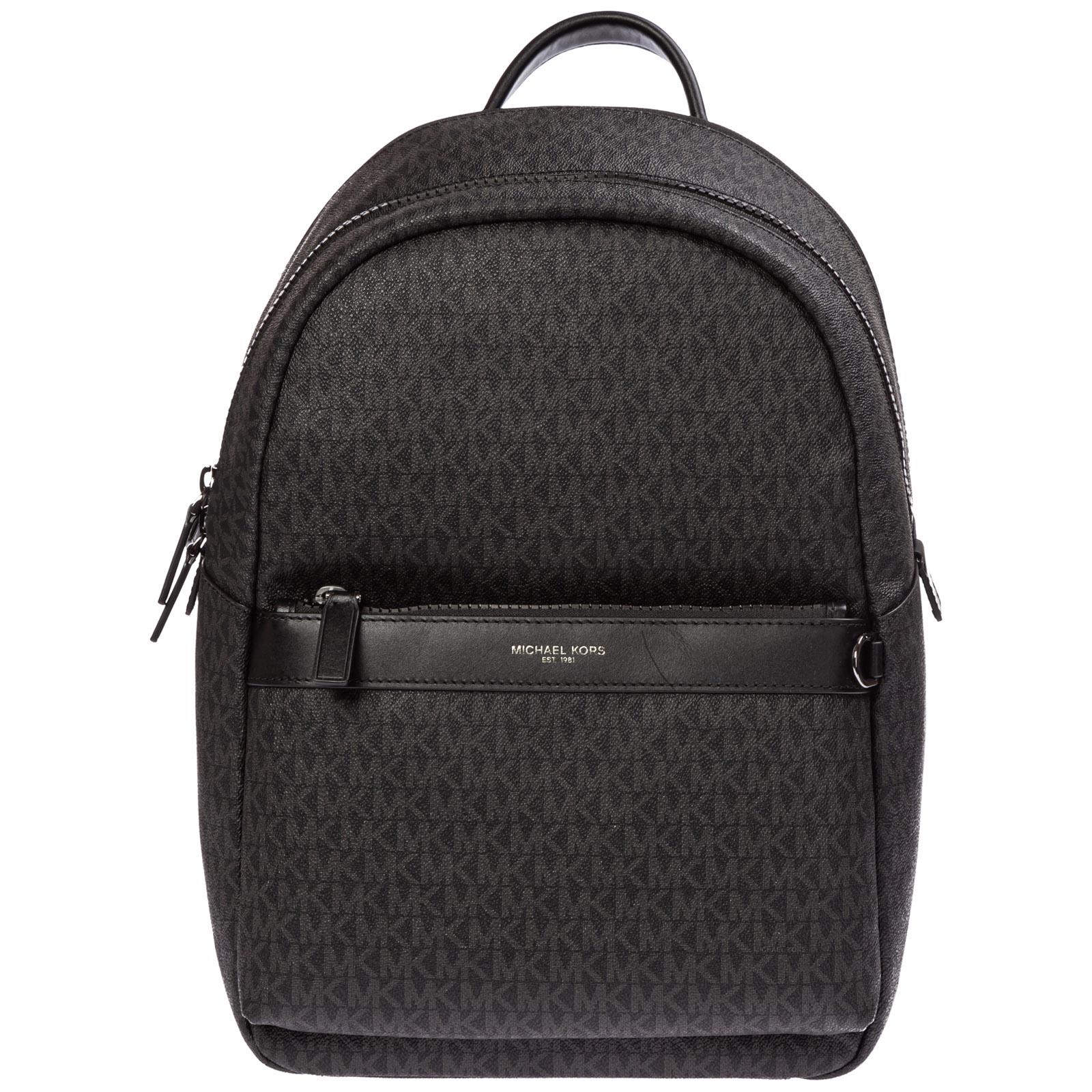 design senza tempo 3a0b2 2fcd6 Backpack Michael Kors greyson 33f9lgyb20 001 nero   FRMODA.com