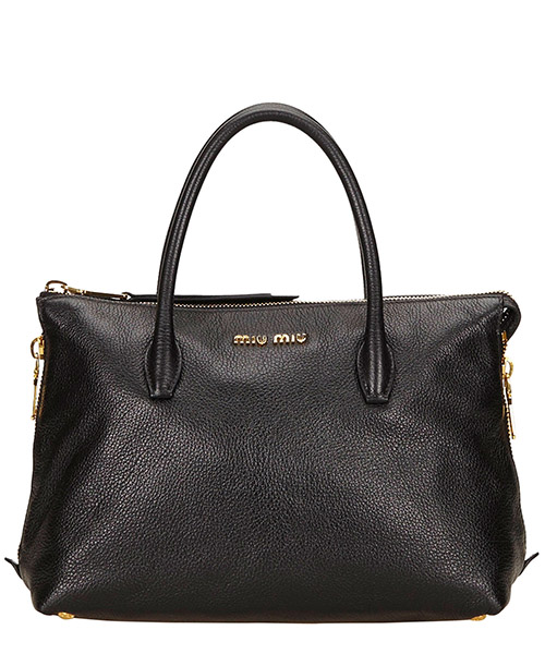 Handbags miu pre-owned 6EMMHB003 nero
