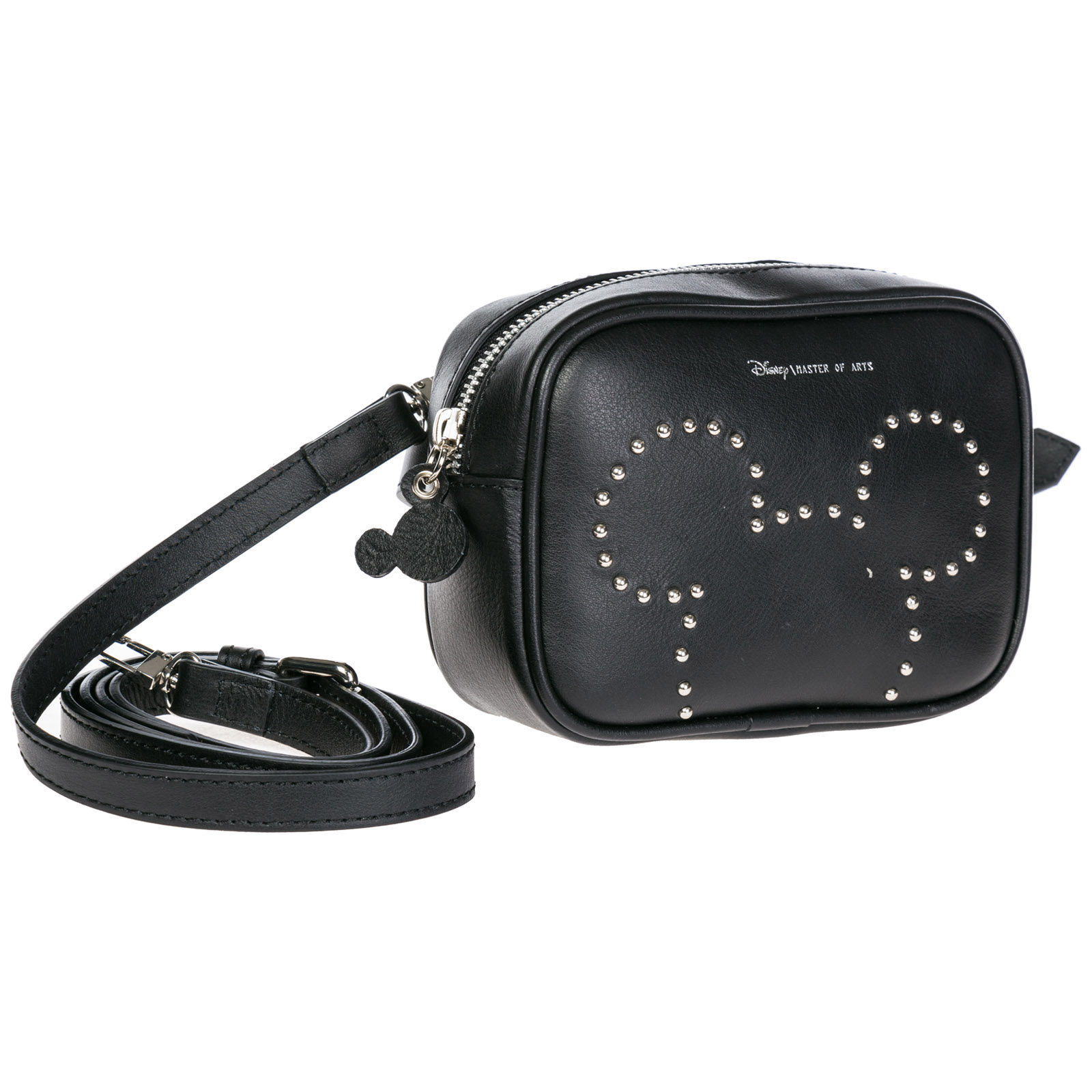 4f2e9b90ec7e ... Women's leather belt bum bag hip pouch disney mickey mouse