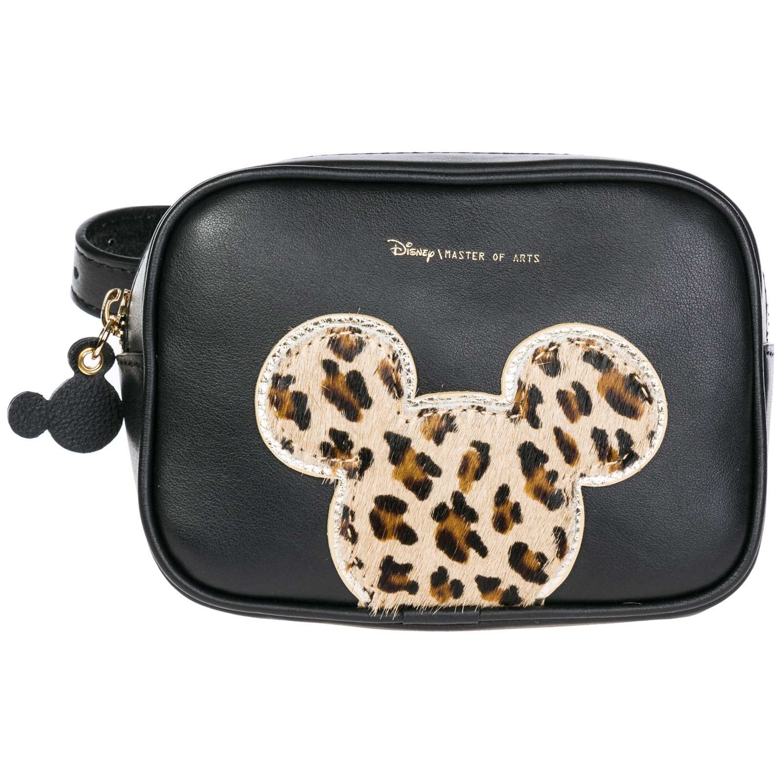 100b2ce008af Moa Master of Arts Women's leather belt bum bag hip pouch disney mickey  mouse