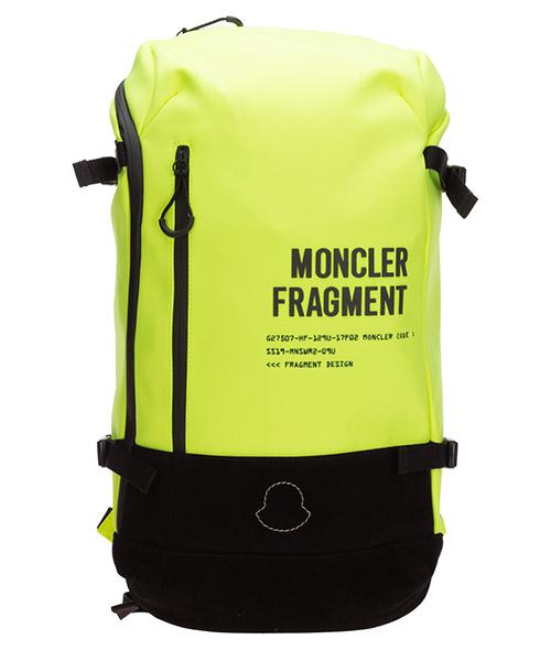 Mochila Moncler Genius 0061200549ZM150 giallo