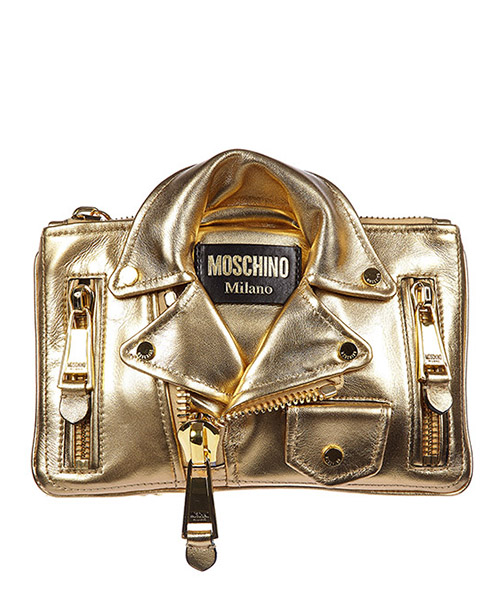 Clutch bag Moschino A 8404 8003 0606 oro